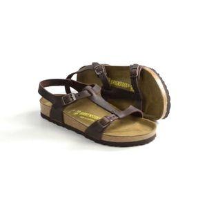 Birkenstock sandals Odessa Brown size 38